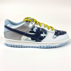 Nike Dunk Low Twilight Blue Retro Shoes 309601-143